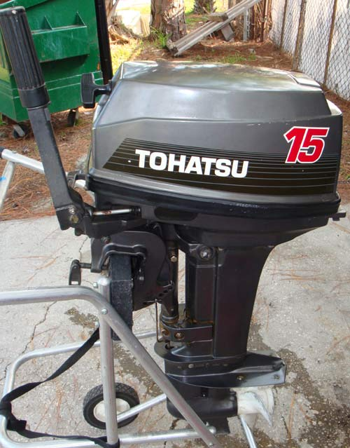 15 Hp Nissan Tohatsu Outboard Boat Motor For Sale