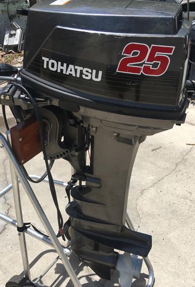 Used 25 Hp Tohatsu Outboard
