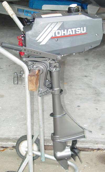 Tohatsu 3 5 Hp Outboard Boat Motor For Sale