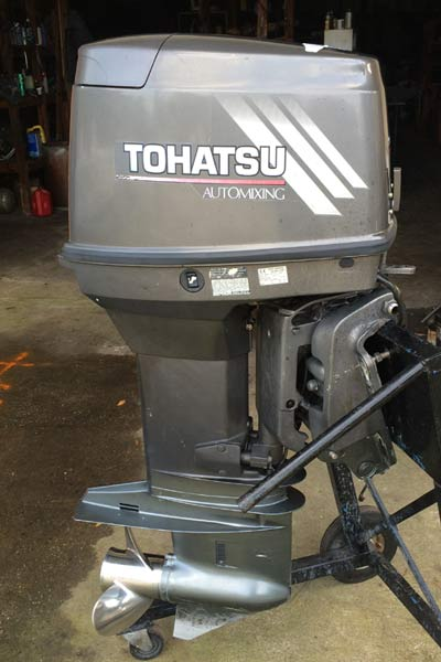 Electric Outboard Motor >> 70hp Tohatsu Outboard Boat Motor For Sale 2-Stroke