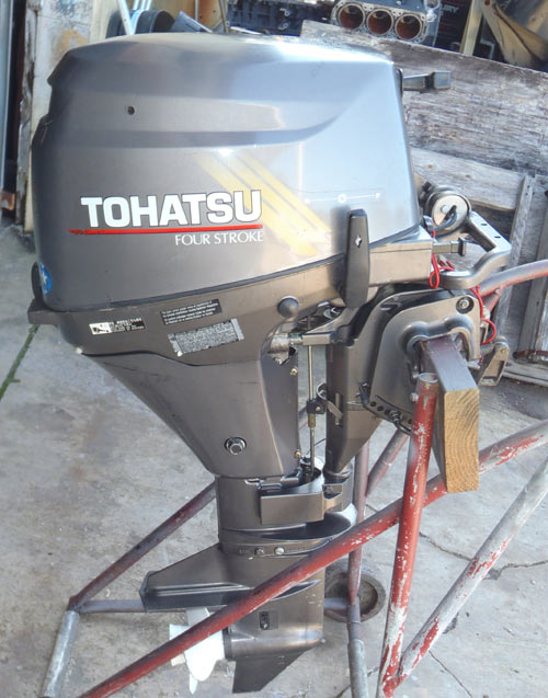 8hp 4 stroke tohatsu outboard for sale for Tohatsu boat motors for sale