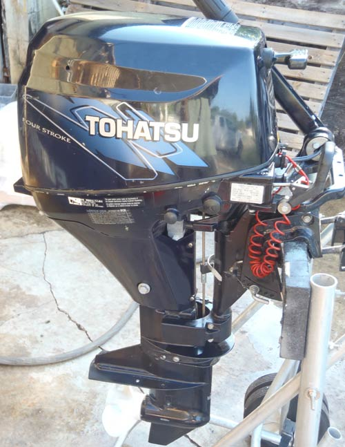 Tohatsu outboard electric start for sale for Tohatsu boat motors for sale