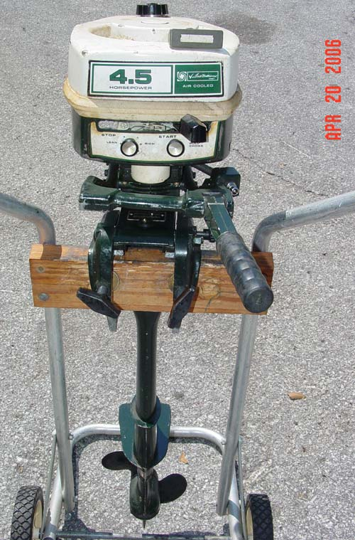 Tecumseh Ted Williams 15 Hp Gamefisher Outboard Motor For Sale