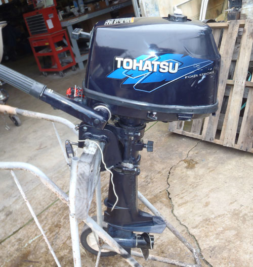5 hp Nissan Outboard For Sale