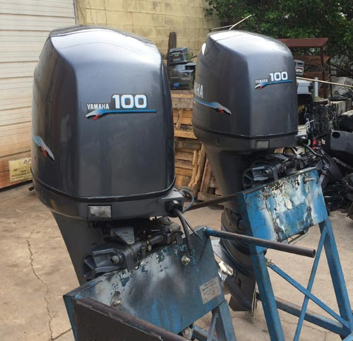 Yamaha 100hp 4-Stroke Outboard For Sale