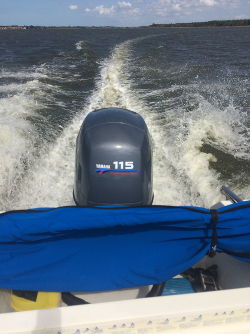 Yamaha 115 hp 4-Stroke Outboard For Sale