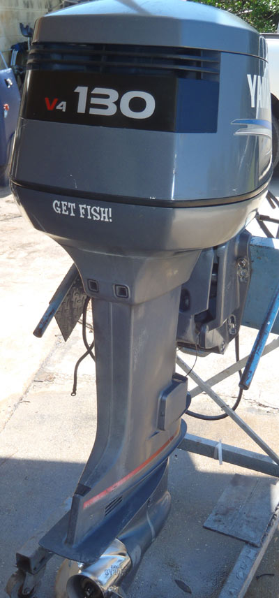 Motors For Sale >> 130 hp Yamaha Outboard For Sale