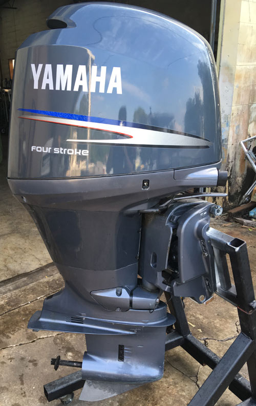 150 hp Yamaha 4-stroke Outboard Boat Motor For Sale
