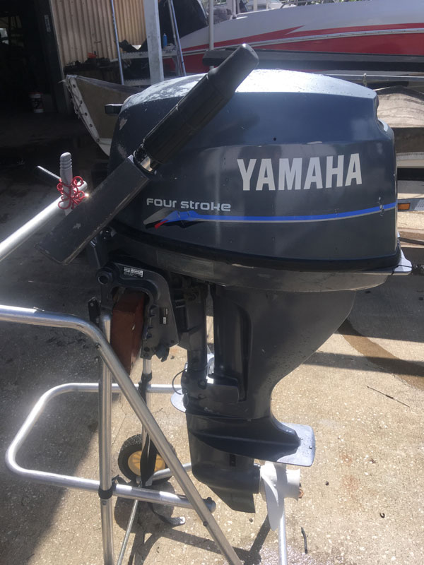 15 hp Yamaha 4 Stroke Outboard Boat Motor For Sale
