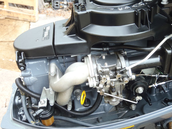 15 hp yamaha 4 stroke outboard boat motor for sale for Small 2 stroke outboard motors for sale