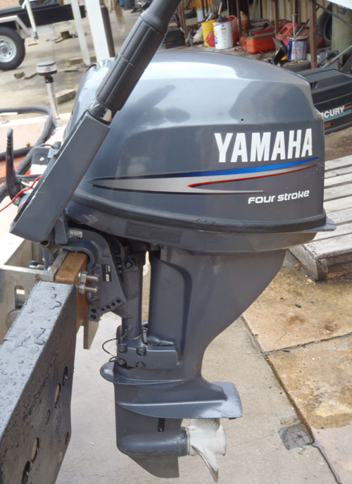 15 hp yamaha 4 stroke outboard boat motor for sale for Yamaha motor boats for sale