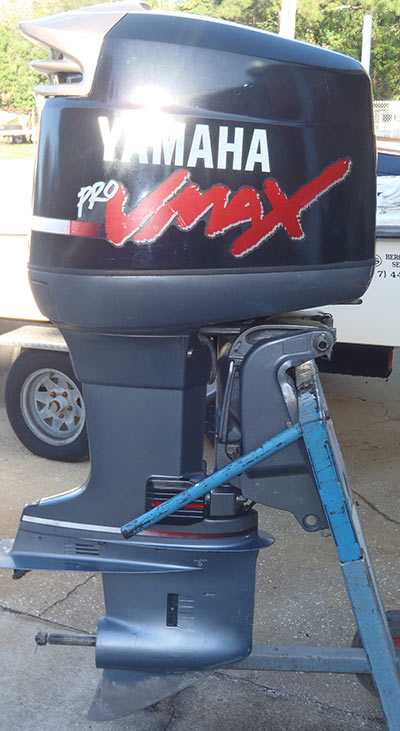 Yamaha 150 hp vmax 2 stroke 20 shaft runs perfectly the for Yamaha 150 2 stroke fuel consumption