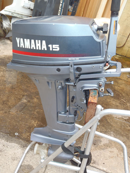 15 Hp Yamaha Outboard For Sale