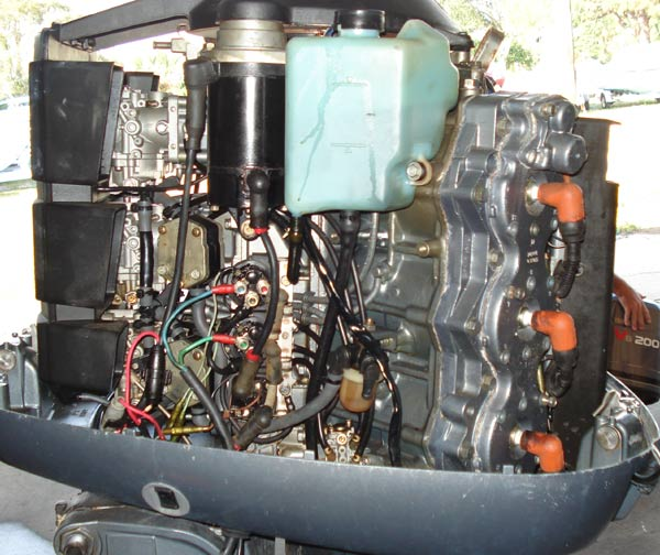 Used Small Boat Engines For Sale: 150 Hp Yamaha Outboard Boat Motors For Sale. Pair