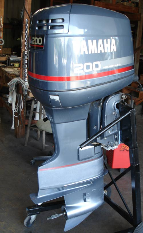 150 hp yamaha outboard boat motors for sale pair for Used 200 hp mercury outboard motors for sale