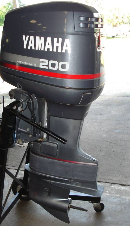 150 Hp Yamaha Outboard Boat Motors For Sale Pair