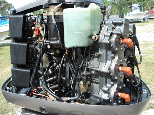 Inside on 150 Hp Mercury Outboard Parts
