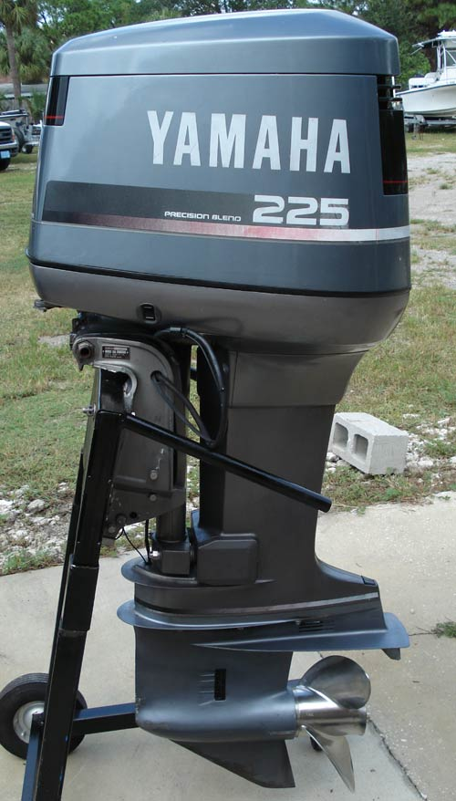 Used outboard motors 225 used outboard motors for sale for Reconditioned motors for sale