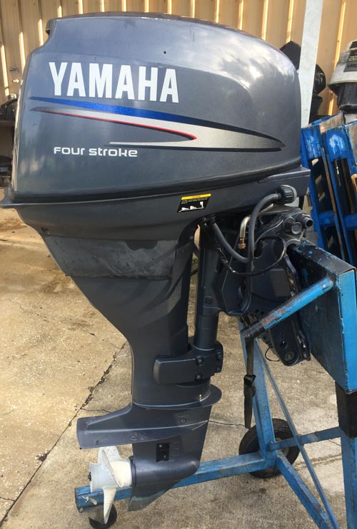 25hp yamaha outboard long shaft remote for sale for Yamaha outboard motor sales