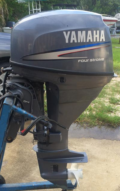 25hp Yamaha Outboard Long Shaft Remote For Sale