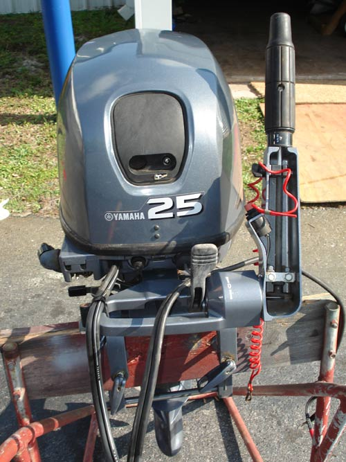 25 hp Yamaha 4 Stroke Outboard For Sale