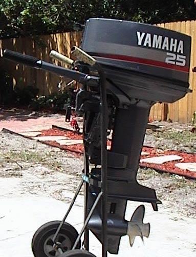 Yamaha Side By Side >> Used 1997 Yamaha 25 hp outboard Motor Yamaha Outboards