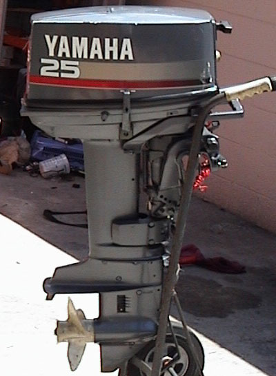 Used 1997 yamaha 25 hp outboard motor yamaha outboards for 25hp yamaha 2 stroke