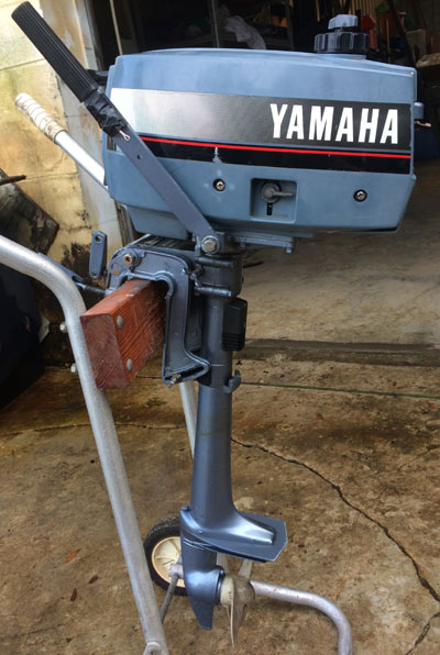 2 Hp Yamaha Outboard Boat Motor For Sale