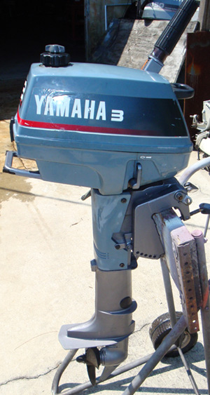 3 hp Yamaha Outboard For Sale