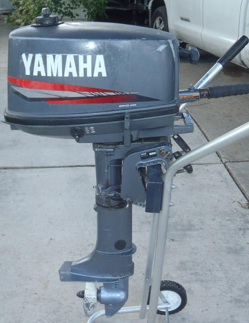 5 Hp Yamaha Outboard For Sale