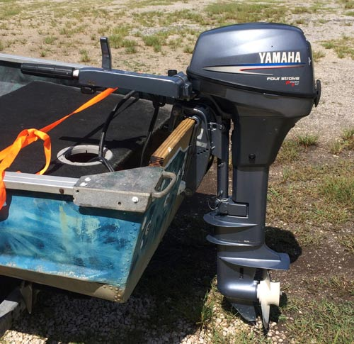 Used Small Boat Engines For Sale: Used 6 Hp Yamaha Long Shaft
