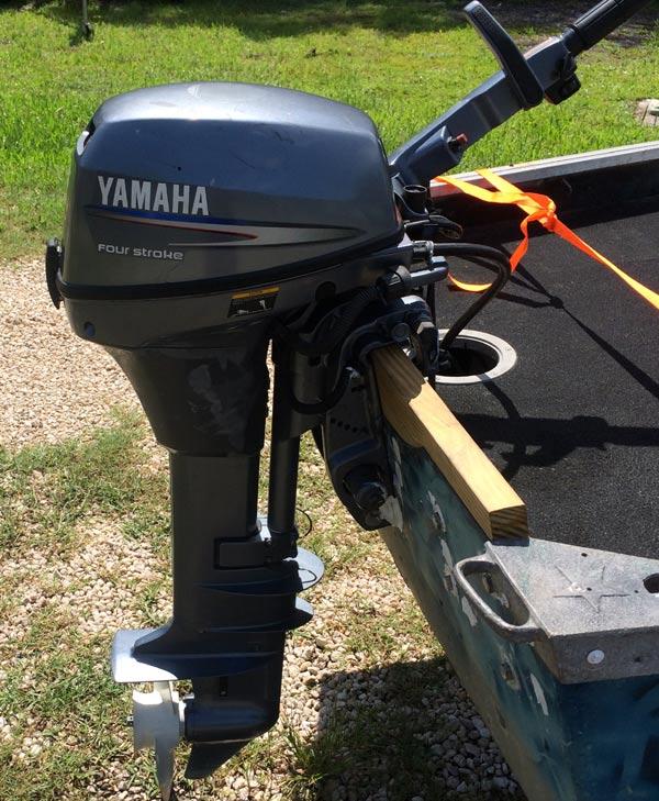 Yamaha  Hp  Stroke Electric Start