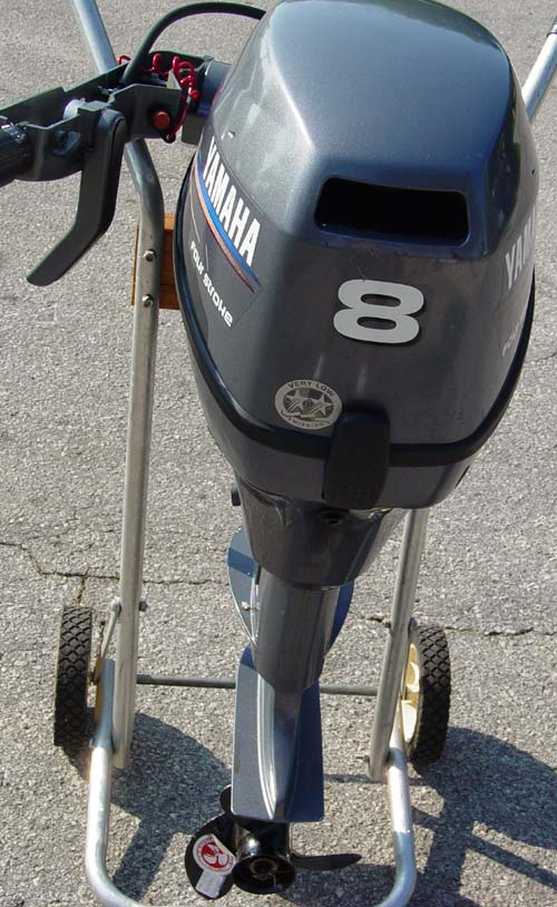 Motors For Sale >> Yamaha 8 hp outboard Motor For Sale