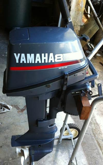 Yamaha Side By Side >> 8 hp Yamaha Outboard Motor