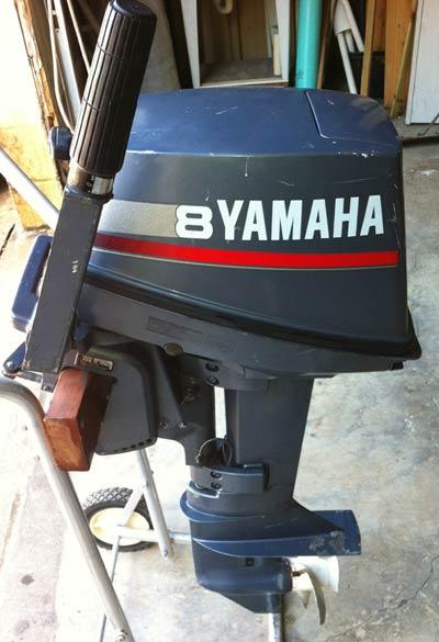 Motors For Sale >> 8 hp Yamaha Outboard Motor