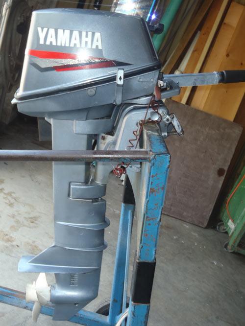 Used 6 hp yamaha long shaft for Long shaft trolling motor for sale