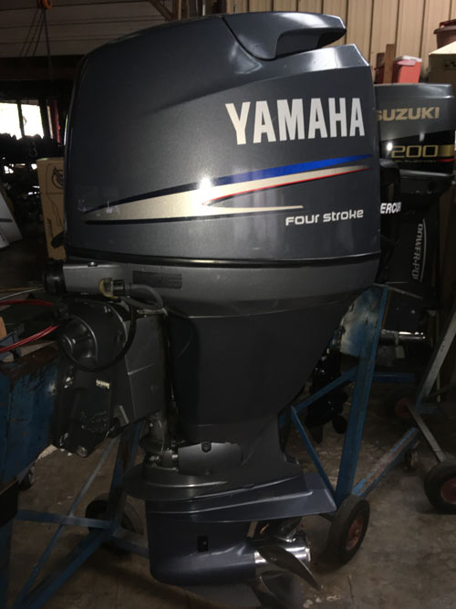 90hp Yamaha 4-Stroke Outboard Boat Motor For Sale